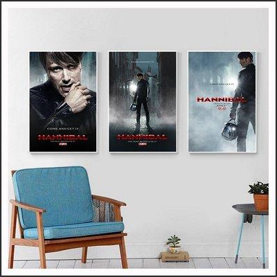 漢尼拔 雙面人魔 Hannibal 海報 電影海報 藝術微噴 掛畫 嵌框畫 @Movie PoP 賣場多款海報~