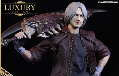 有鋪預訂1/6 DEVIL MAY CRY : DANTE (DMC V) LUXURY EDITION 鬼泣 五:但丁豪華版(SHF MAFEX FIGMA)