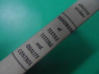 大熊舊書坊- HANDBOOK of TEXTILE TESTING and QUALITY CONTROL-107