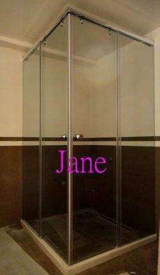 【雅緻專業淋浴拉門】免費丈量 台灣製J2c2無框橫拉清強化玻璃門淋浴門乾濕分離衛浴拉門浴室拉門沐浴門浴室門衛浴設備玻璃門