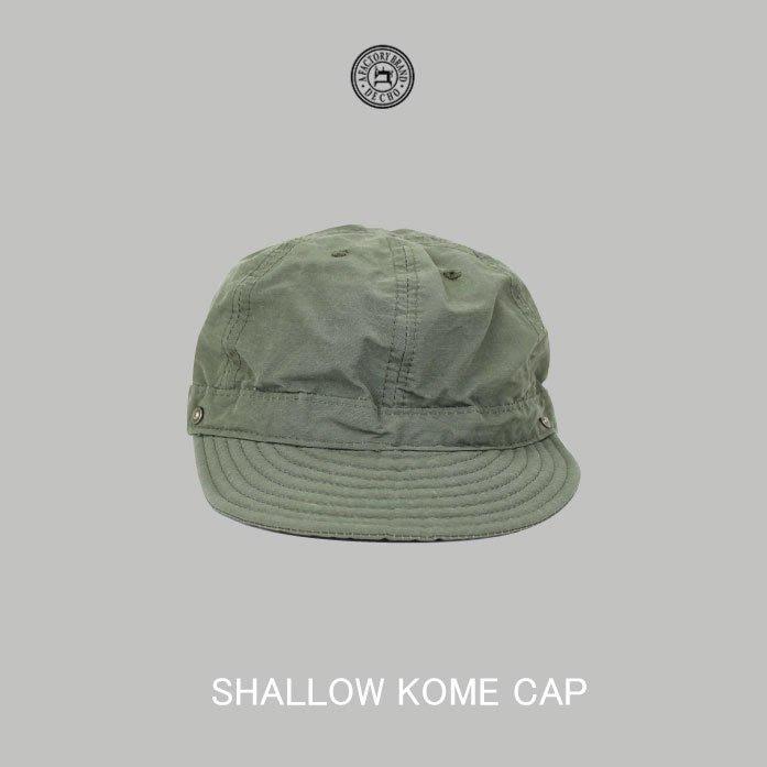 WaShiDa【8-1AD18】DECHO日本品牌 日本製SHALLOW KOME CAP 短帽簷 扁帽 可調 - 預訂