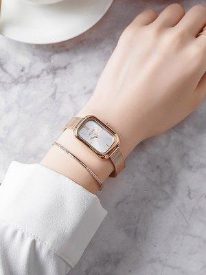家電城新款聚利時JULIUS手錶女時尚潮流長方形女士腕錶正品韓國品牌女錶