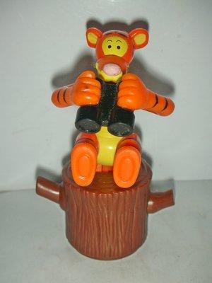 A皮商.(企業寶寶玩偶娃娃)少見1998年麥當勞發行-POOH小熊維尼尋找羅賓-跳跳虎公仔!--距今有19年歷史!
