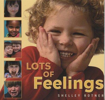 *小貝比的家*LOTS OF FEELINGS /平裝書+JYCD3~6歲/認知概念/缺書中