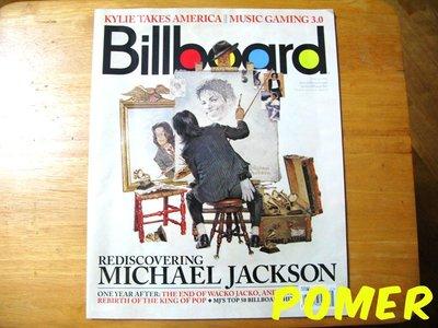 ☆POMER☆Billboard 特別紀念版特刊 Michael Jackson 麥可傑克森 MJ 雜誌 特輯 懷念珍藏