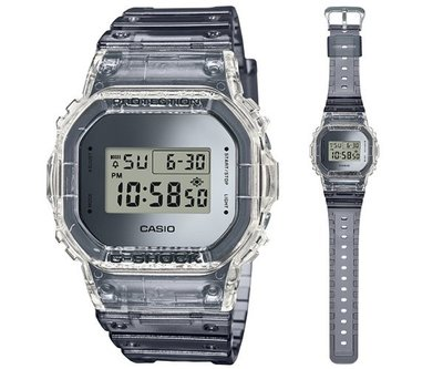 現貨*夢幻精品屋* CASIO卡西歐 G-SHOCK 半透明材質復古風格 DW-5600SK-1