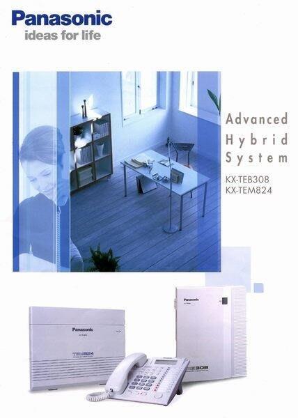 數位通訊~PANASONIC TES 824(308)+KX-T7730  4台 KX-7750 4台國際牌