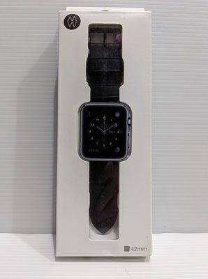 『BAN'S SHOP』 美國 Monowear apple watch 錶帶42mm 黑色  福利品