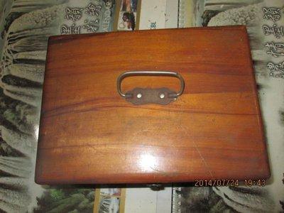 早期 古董檜木箱