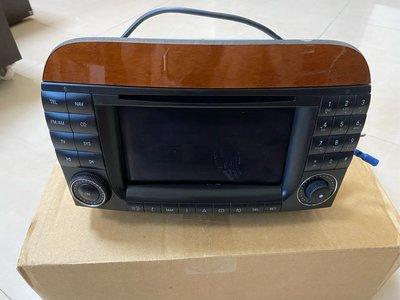 BENZ W220 小改款 原廠主機