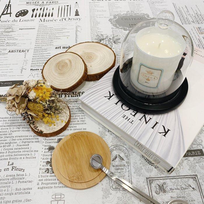 香氛 ◎ 玻璃盅 玻璃罩 含純黑底座 香氛蠟燭 乾燥花 不凋花 永生花