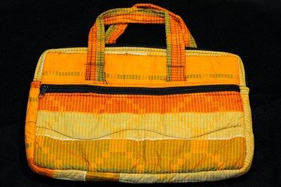 【甲殼哥】西非『手工花布筆電包』非洲裁縫手作(12吋、13吋筆電包)