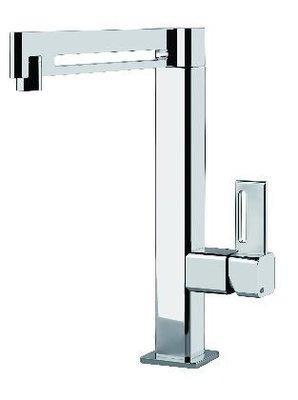歐雅系統家具 系統櫥櫃 全面客製化訂做【GESSI-17013廚房檯面式單槍龍頭 】