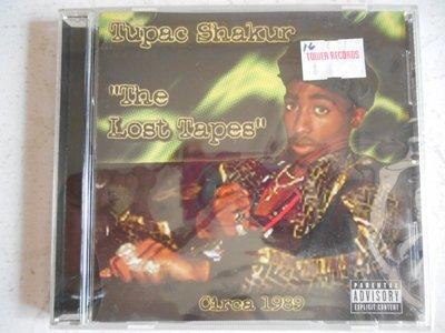 Tupac Shakur - The Lost Tapes 2Pac 進口美版