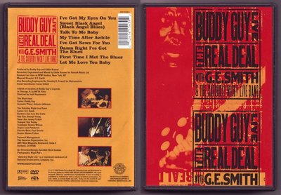 音樂居士#Buddy Guy The Real Deal Live 演唱會 () DVD