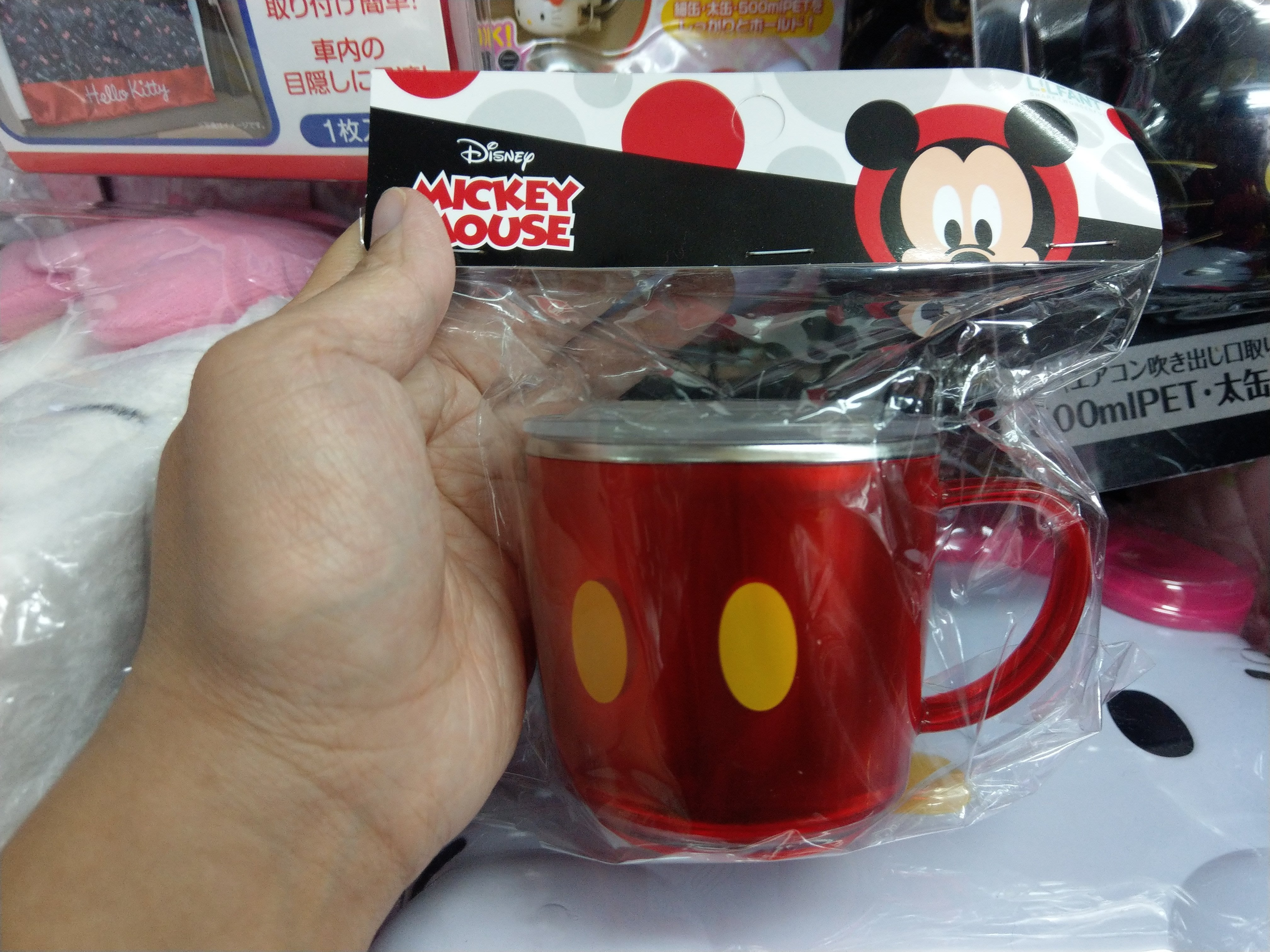 [檬檬Store]  迪士尼 米奇 褲褲  有蓋 304不鏽鋼杯  兒童餐具 ~