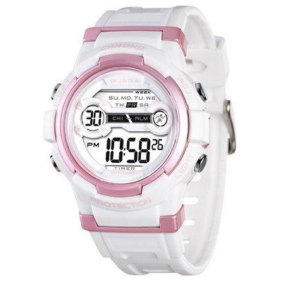 JAGA冷光電子錶 超人氣 M1126 上班族 學生錶 運動錶 生日禮物 獎勵品 附保固卡【↘超低】M1126