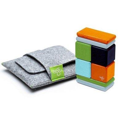 【小糖雜貨舖】美國 tegu 磁性積木 - 8件式口袋組 - NELSON尼爾森