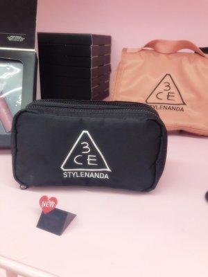 韓國免稅店購入 3CE COMPACT POUCH  盥洗包 化妝包 旅行包 萬用旅行包