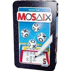 [Cleverkids] 全新鐵盒Schmidt Spiele MOSAIX 邏輯幾何訓練遊戲(隨身版) 5yr