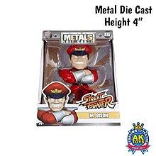 AK Toys - Street Fighter 街霸 街頭霸王 Metals Die Cast 合金 約4寸高 Mbison