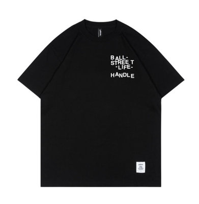 [ballaholic]L-I-FE Tee (black/white)