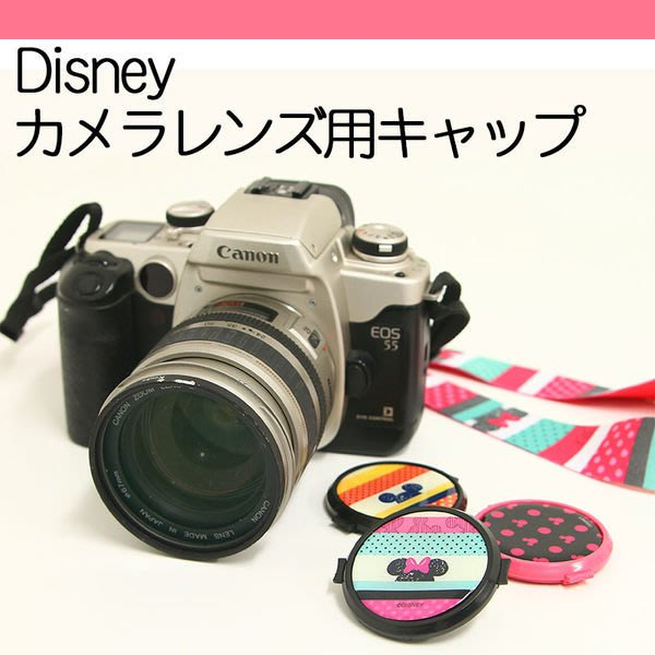 尼德斯Nydus~* 日本迪士尼 米奇 米妮 37mm 40.5mm 43mm 52mm LX7 鏡頭蓋 數位 單眼相機