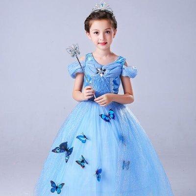 公主裙 禮服兒童連身裙聖誕節服裝 生日禮物—莎芭