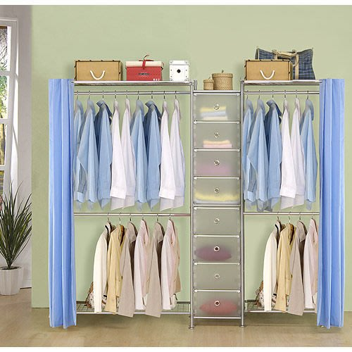 【中華批發網DIY家具】D-62A-02-W2型60+pp+W2型90衣櫥置物櫃-(前罩)不織布