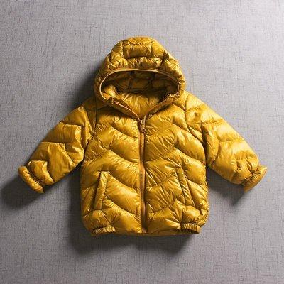 【Mr. Soar】 **清倉** G117 冬季新款 歐美style童裝男女童極輕羽絨連帽外套 現貨