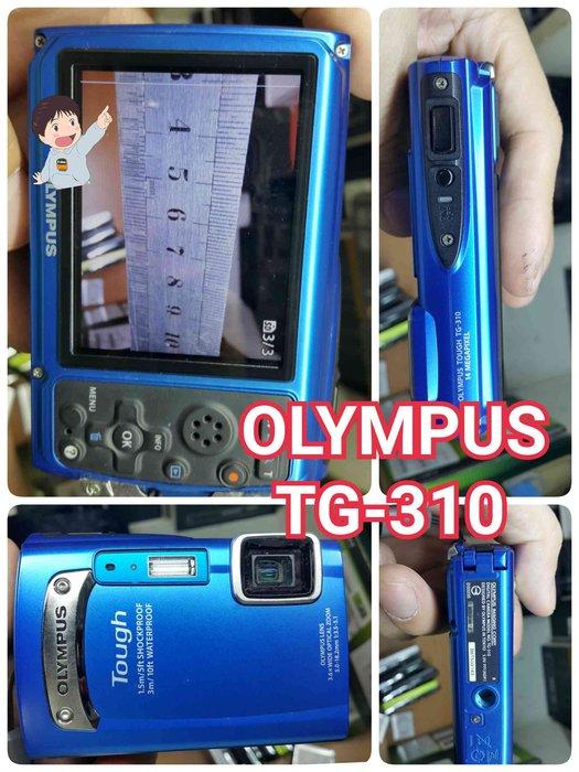 TG-310 Olympus TOUGH 數位相機 防水 耐衝擊以及耐寒特性 1410萬像素 鴻K