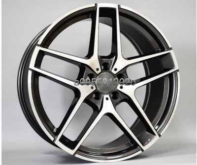 全新類BENZ AMG原廠式樣5孔112 19吋鋁圈W203/W205/W207/W212/W213/W220/W221