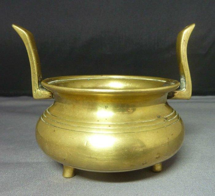 大世紀古董店  清代  小銅爐