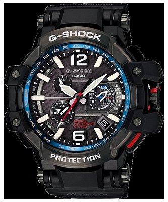 頂傑 卡西歐CASIO G-SHOCK空系列電波混合GPS腕錶 GPW-1000-1ADR