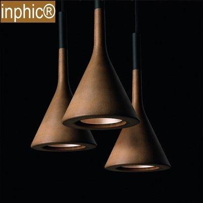 INPHIC-北歐創意簡約現代餐廳酒吧吧臺臥室Aplomb仿水泥吊燈