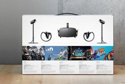 哆啦本鋪 VR眼鏡OCULUS RIFT CV1 3D虛擬現實VR游戲頭盔眼鏡TOUCH手柄 套裝 D655
