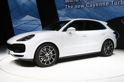 保時捷 Porsche 2018 Cayenne E3 原廠輪弧