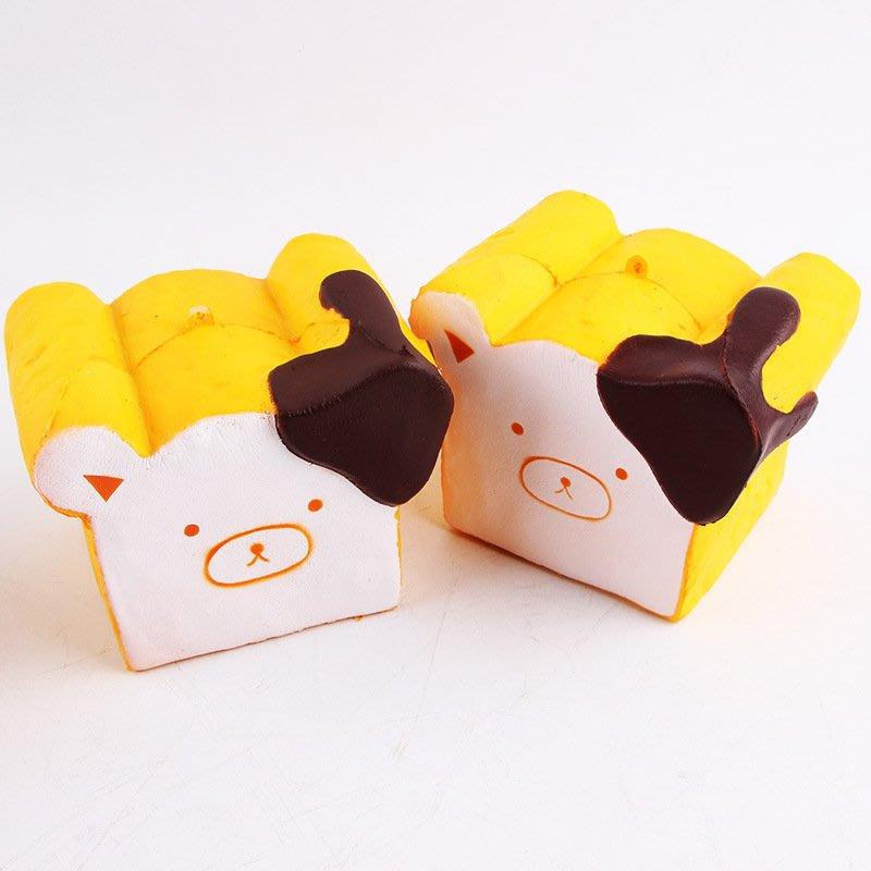 軟軟Squishy 仿真吐司 慢回彈 減壓玩具  輕鬆熊吐司塊 貓吐司 貓坐墊 跨年禮物 新年禮物 動漫節 交換禮物