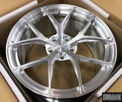 全新 19吋 正 BC RZ-21 Wheels 單片鍛造鋁圈客製化 銀刷絲 各車規格訂製 另有 18吋 20吋 21吋