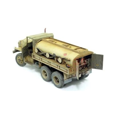 戰鷹 AFV # 35007 1/35 國軍油罐車/水車(請先聯繫確認存貨)