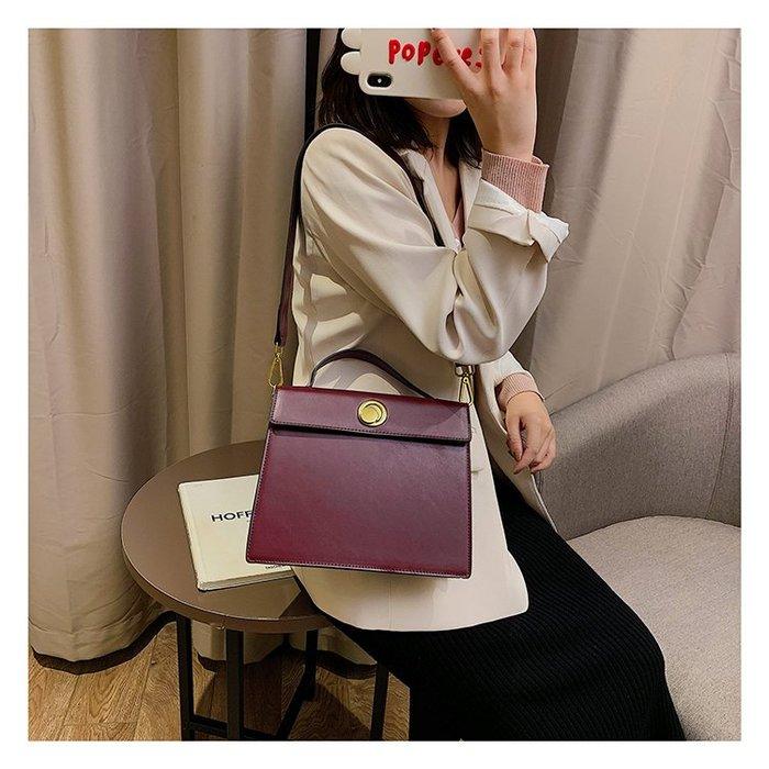 FINDSENSE X 韓國 女士 時尚石頭紋 大容量 斜挎包 百搭 側背包 單肩包