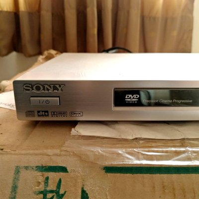 Sony dvp-ns52p dvd player 播放器 老高階品