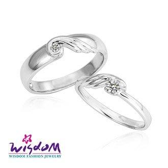 威世登 天然鑽石《心動系列》無盡的愛 女戒- 韓風設計、情人節、生日、網友狂推熱銷款- JDA03225G-AGEXX