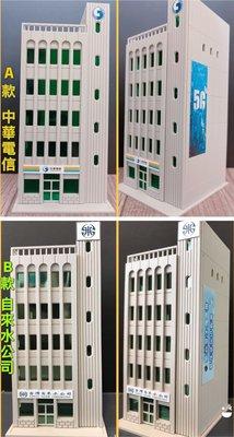 場景 N規 1:150比例 自來水公司 建築模型 建築塑料拼裝屋 現貨