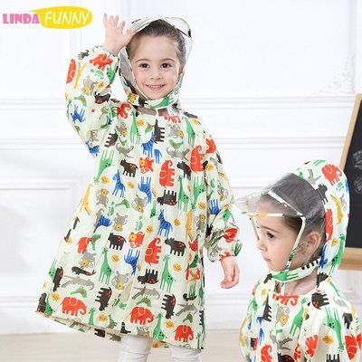 [DawnTung]2004 兒童雨衣 雨衣 雨鞋 卡通雨衣 畫畫衣 雨傘兒童雨衣 男童女童寶寶小學生可愛卡通53