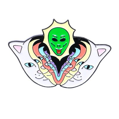 【YOYOGI PLUS】RIPNDIP Splitting Heads  PIn  別針