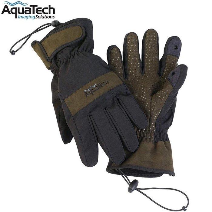 又敗家AquaTech防水雙層快乾透氣保暖手套#1752適出國外旅遊冰島丹麥挪威看北極光中國東北海道蘇聯防寒保溫保暖手套