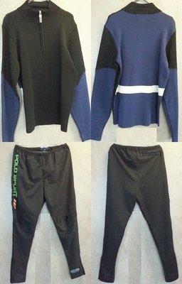 Polo Ralph Lauren (9) 男裝 運動套裝 長袖厚緊身單車衫 厚緊身褲  全套 $3,100