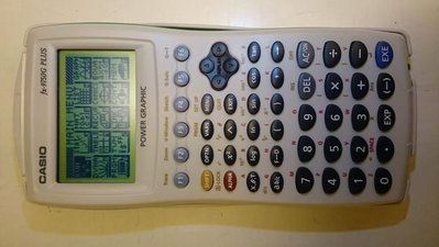 CASIO fx-9750G PLUS Graphic Graphical calculator 圖像計算機 計數機