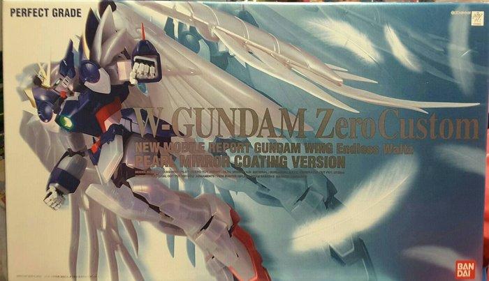 BANDAI 鋼彈W-GUNDAM Zero Custom 飛翼零式 天使鋼彈  1/60
